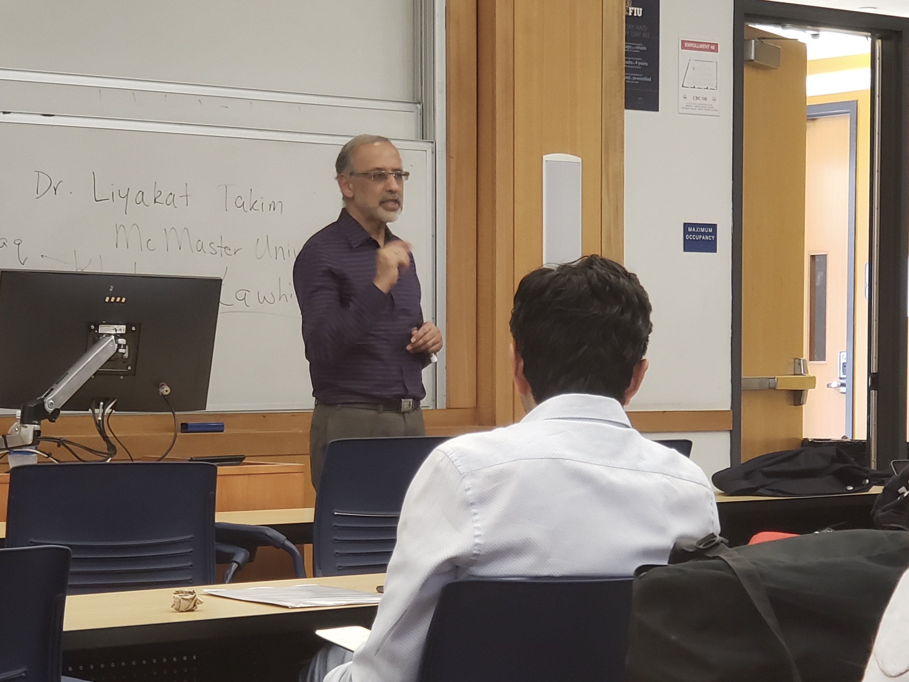 Professor Discusses Islamic Perspective on Climate Change - PantherNOW