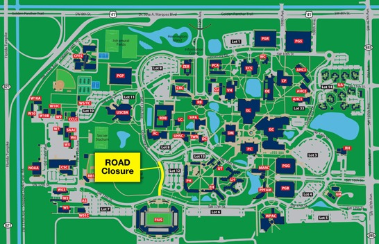 International University Map. st andrews university laurinburg nc