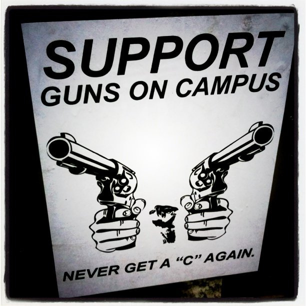 guns on college campus Students for concealed carry is a concealed carry of handguns on college campuses believes that ohio state's campus gun ban unlawfully infringes on.