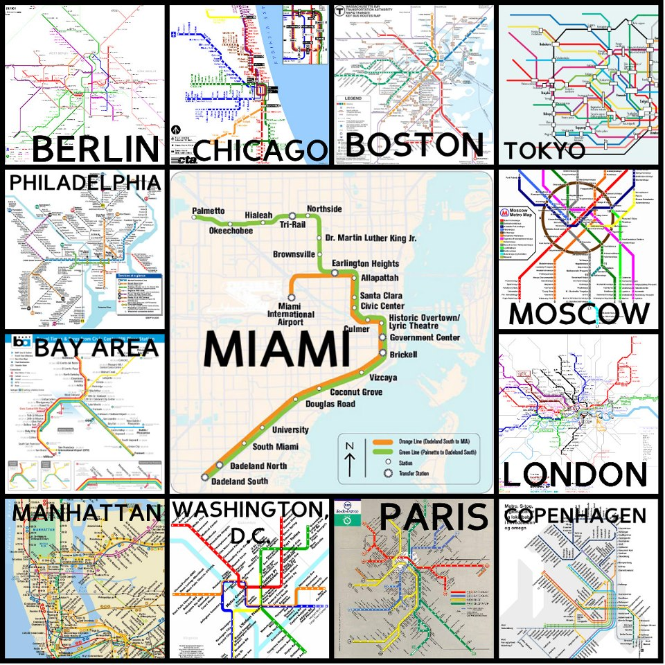 The limits of MiamiDades public transportation PantherNOW