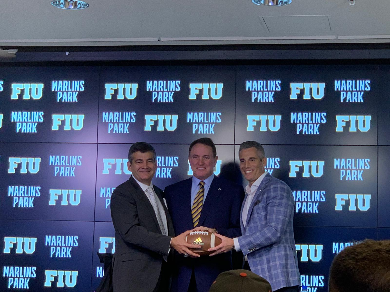a00d1e288ab Marlins Park welcomes back football with FIU vs UM 2019 Orange Bowl -  PantherNOW