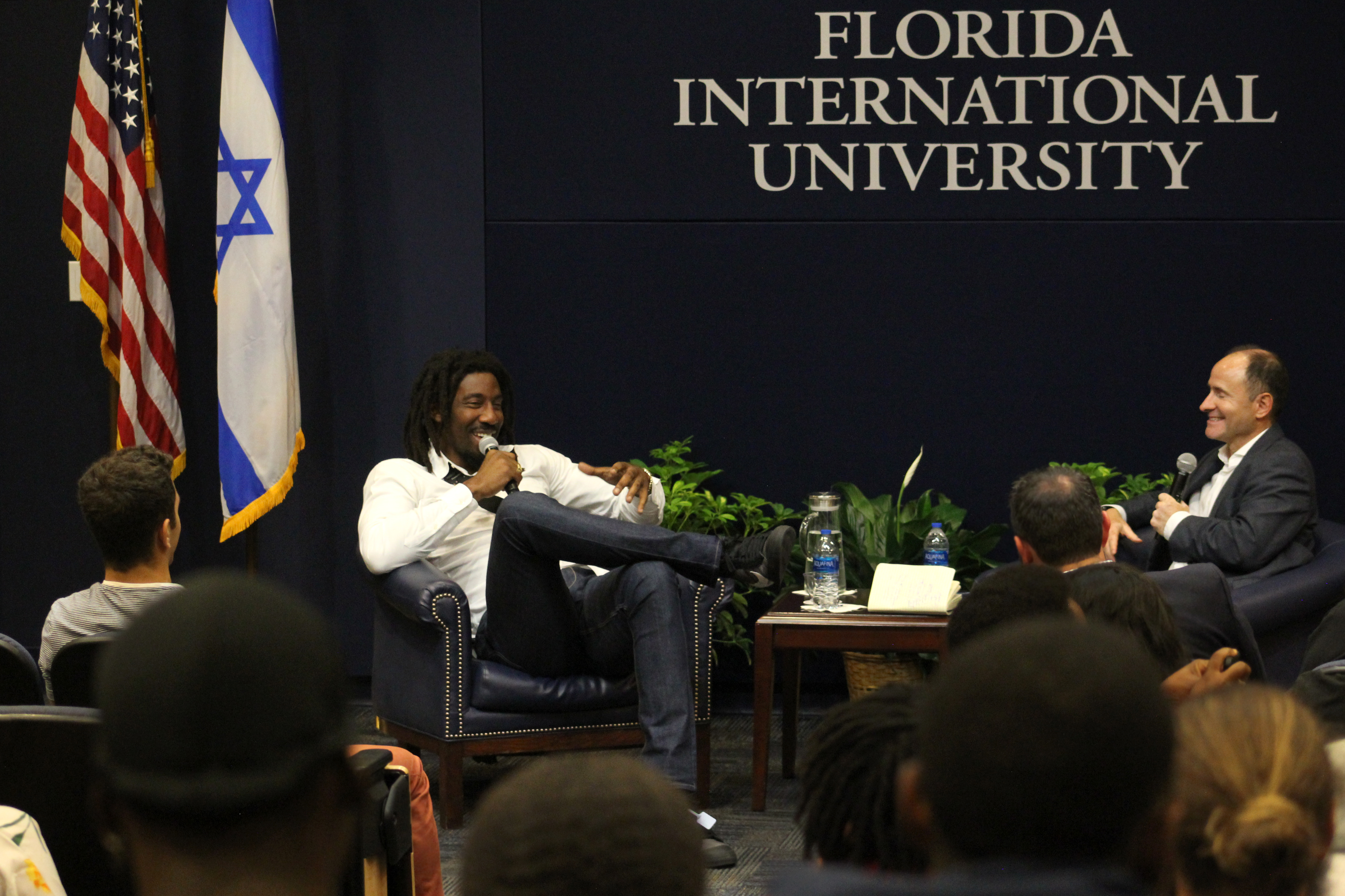 NBA All-Star Amare Stoudemire visits FIU for Hillel Event - PantherNOW